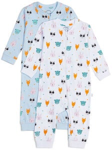 Luca & Lola Fiore Pyjamas 2-pack, Animals