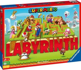 Ravensburger Super Mario Spel Labyrinth SV/DA/NO/FI