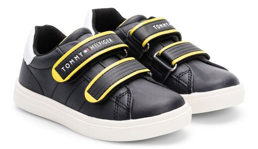 Tommy Hilfiger Sneaker, Black/Yellow