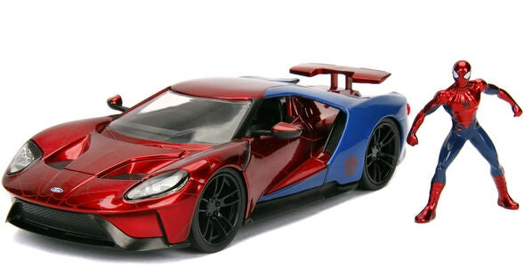 Marvel Spider-Man 2017 Ford GT Med Figur