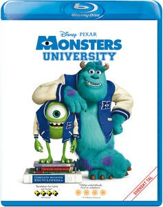 Disney Pixar Monsters University Blu-Ray