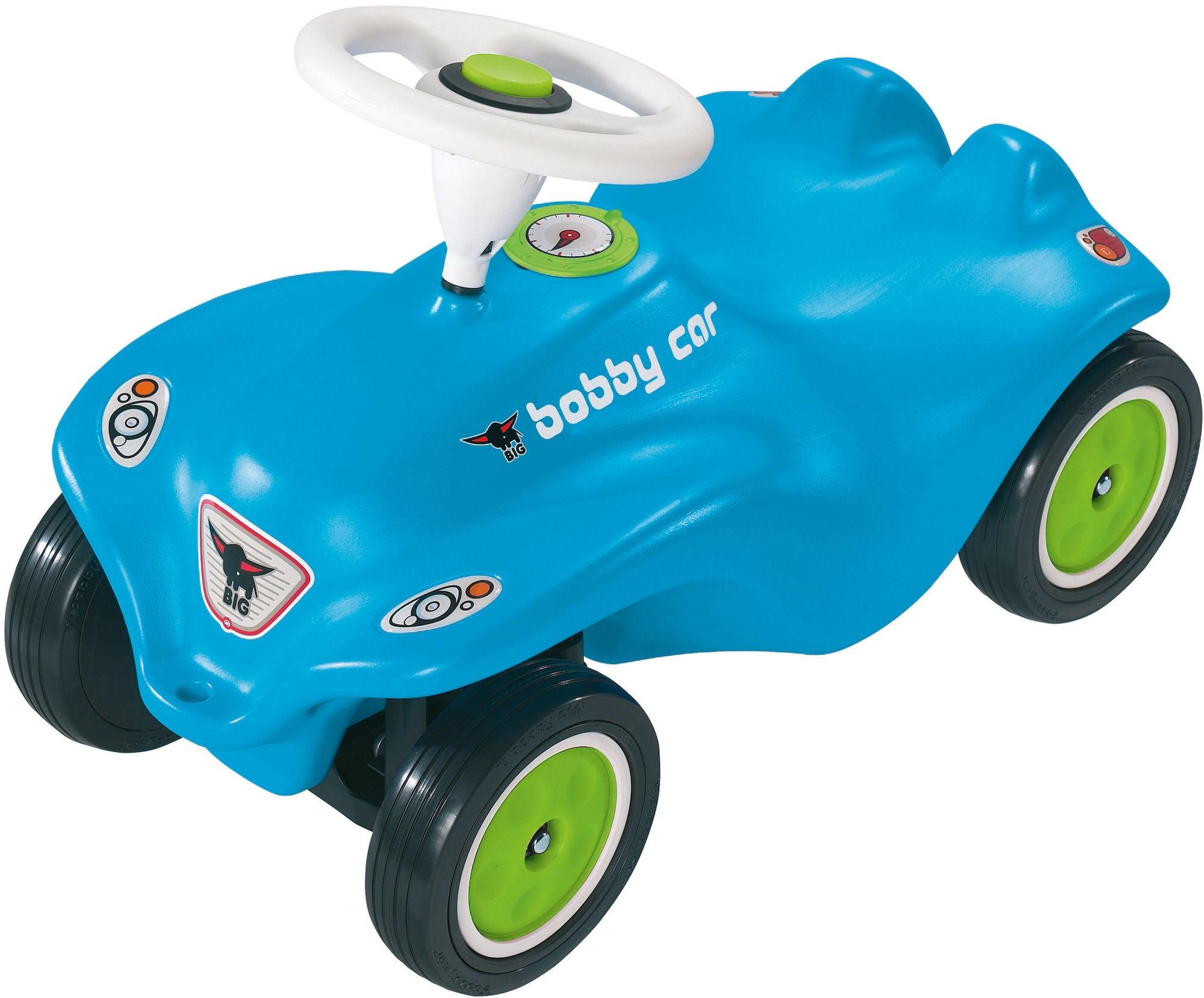 BIG Bobby Car Classic Blå/Lime
