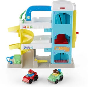 Fisher-Price Little People Parkeringsgarage The Helpful Neighbor's