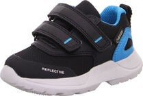 Superfit Rush GTX Sneaker, Black/Blue