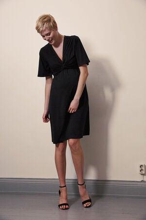 Boob GravidAmningsklänning Ilse Dress Black • Se priser (1