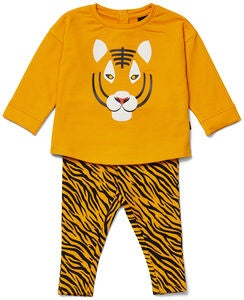 Luca & Lola Sorelina Fleece Set, Tiger