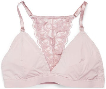 Milki Soft Lace Amnings-BH, Dusty Pink