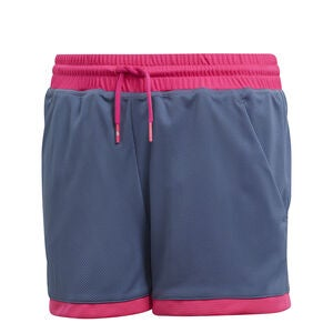 Adidas Girls Club Shorts, Grey