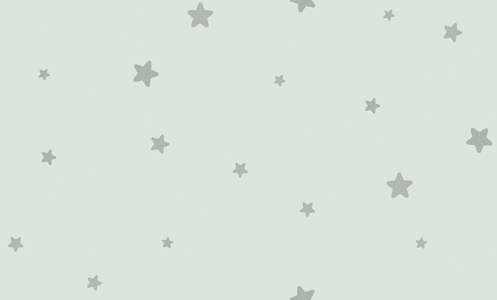 Fiona Walldesign Lilla Stjärna Tapet, Blå