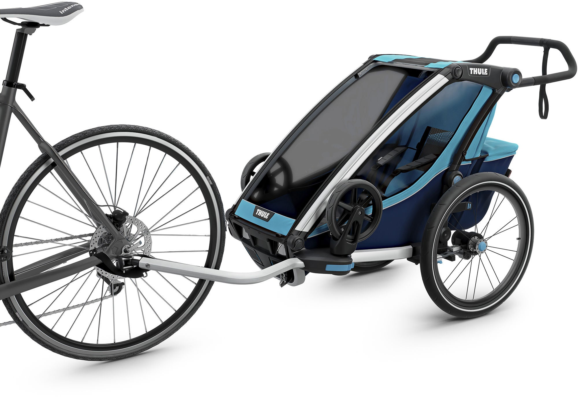 Thule Chariot Cross 1 Cykelvagn, Blue / Poseidon