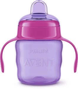 Philips Avent Classic Pipmugg 200 ml, Purple/Pink