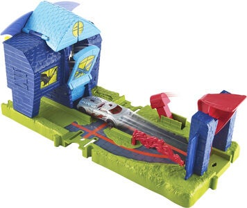 Hot Wheels City Bat Manor Attack Lekset