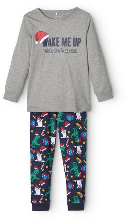 Name it Rinight Pyjamas, Grey Melange