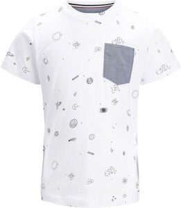 PRODUKT Space Aop T-Shirt, White