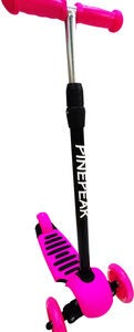 Pinepeak Sparkcykel 3-in-1, Rosa