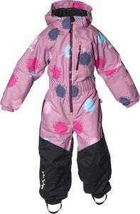 Isbjörn Penguin Overall, Dusty Pink Globe