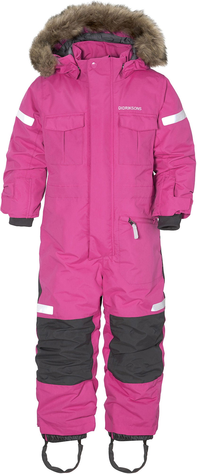 Didriksons Migisi Overall Plastic Pink 120
