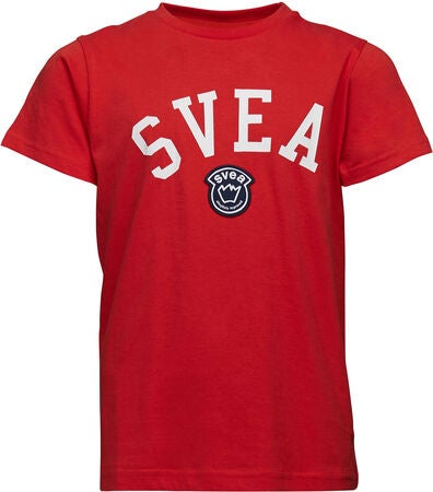 Svea Chicago T-Shirt, Röd