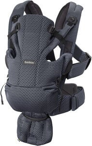 BabyBjörn Move Bärsele 3D Mesh, Anthracite