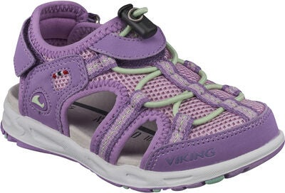 Viking Thrill Sandal, Violet/Mint