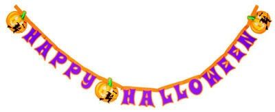 Decorata Girlang Happy Halloween