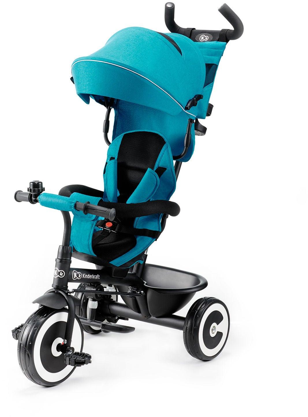 Kinderkraft Trehjuling ASTON, Turkos