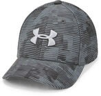 Under Armour Printed Blitzing 3.0 Keps, Stealth Grey