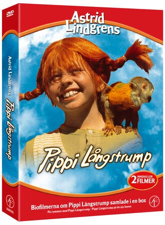 SF DVD-Box Pippi Långstrump