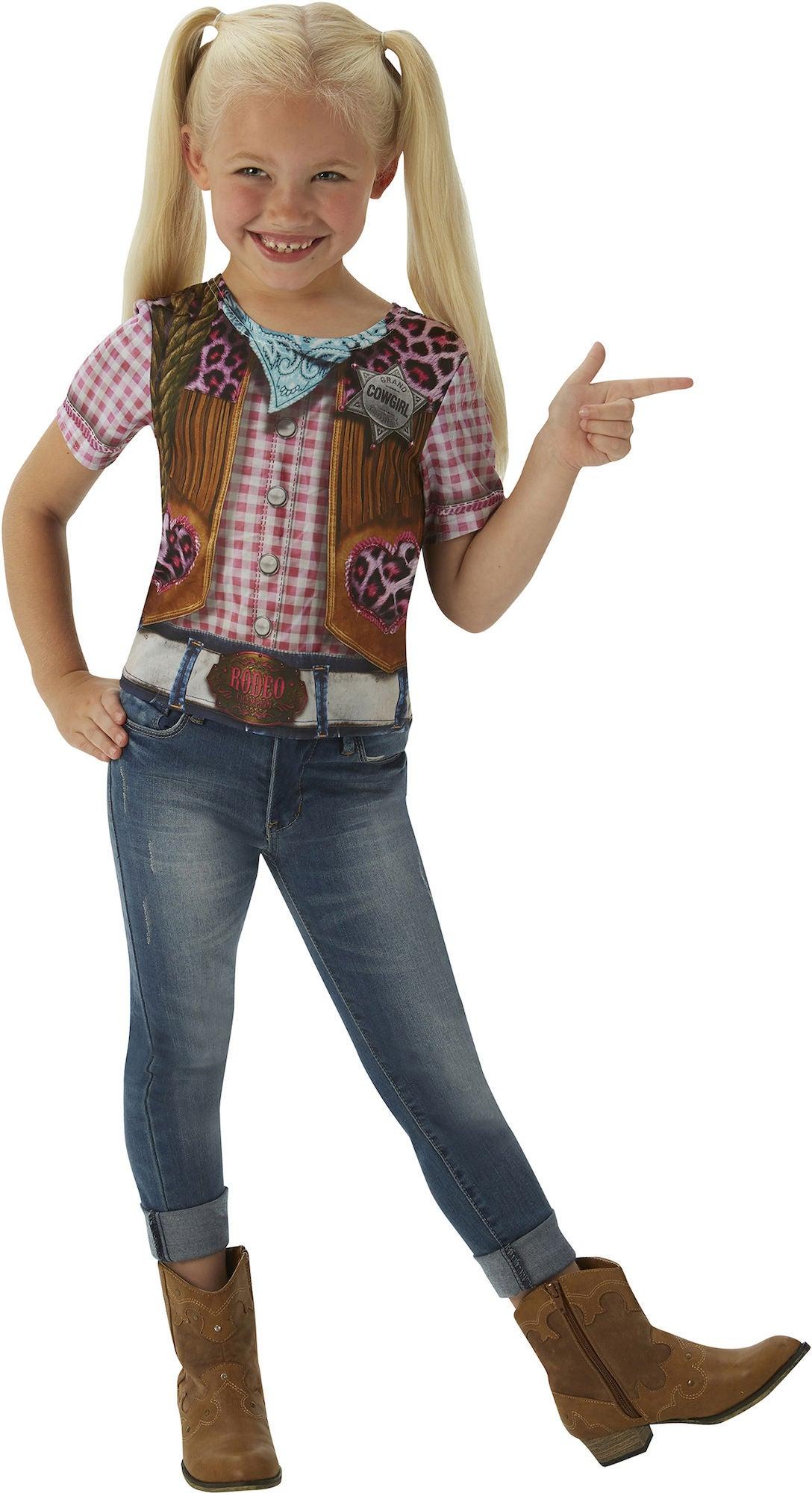 Köp Rubie s Cowgirl T-shirt  eb2ac53f98dc2