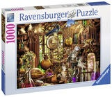 Ravensburger Pussel Merlins Laboratorium 1000 Bitar