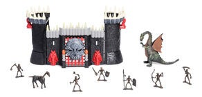 Fantasy Playworld Tomb Warrior Castle Lekset