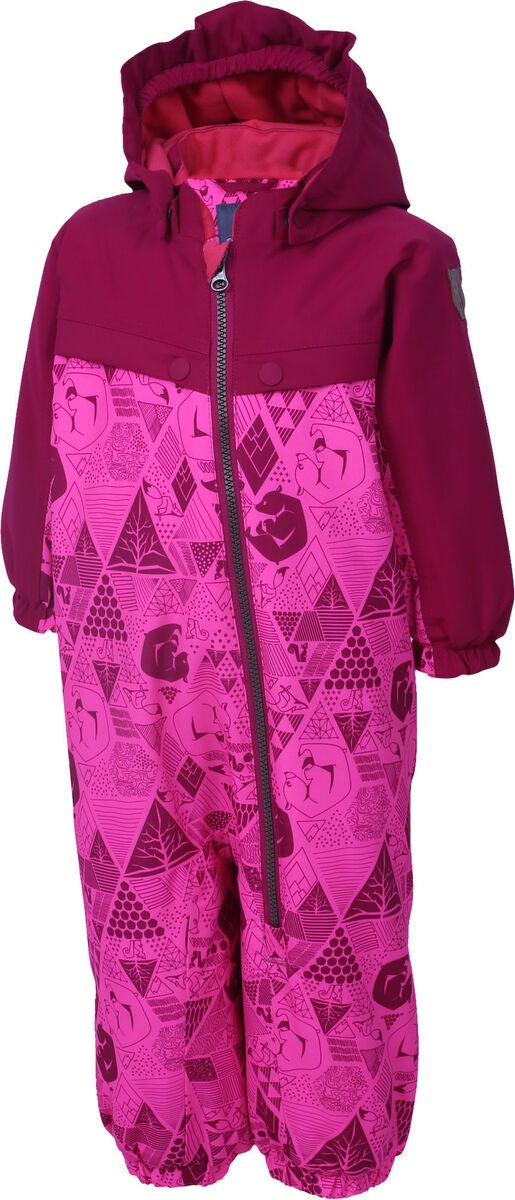 Color Kids Dolpa Mini Overall, Candy Pink