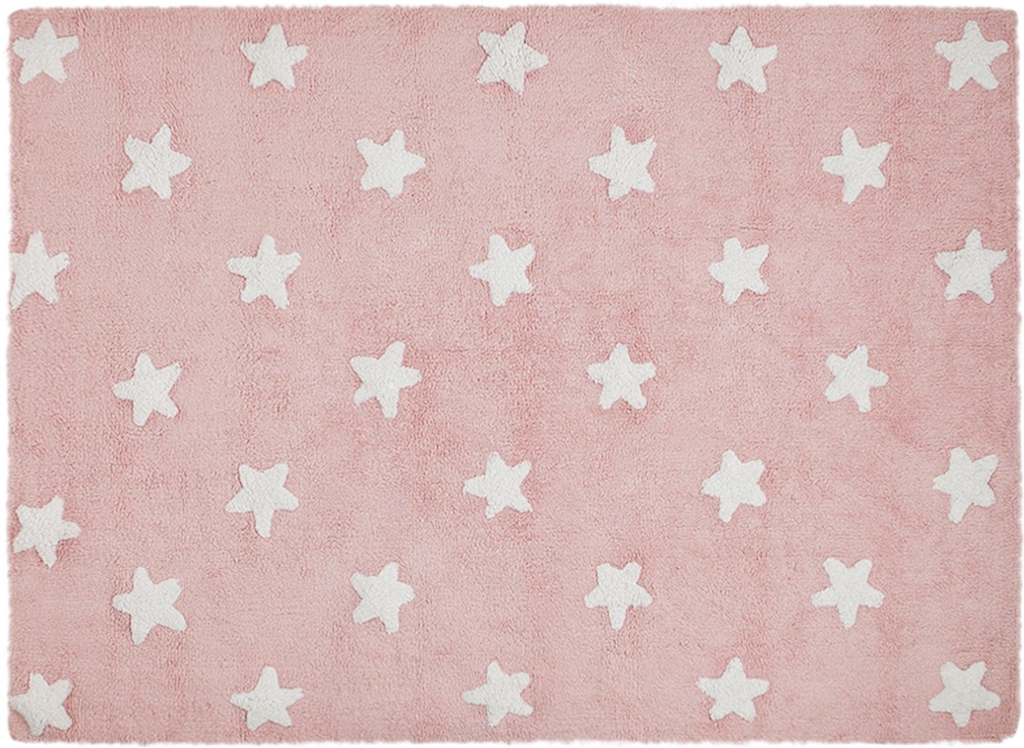 LorenaCanals Lorena Canals Matta Stars, Pink-White