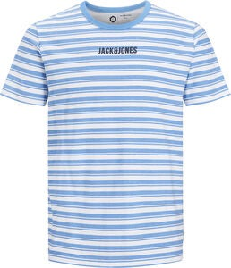 Jack & Jones Summer Crewneck T-Shirt, Azure Blue