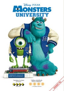 Disney Pixar Monsters University DVD