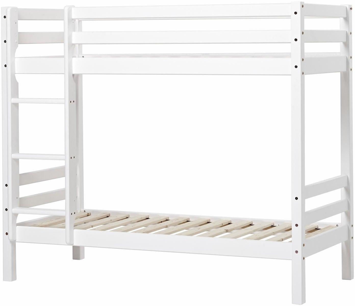 Hoppekids Basic Våningssäng 70x160, Vit