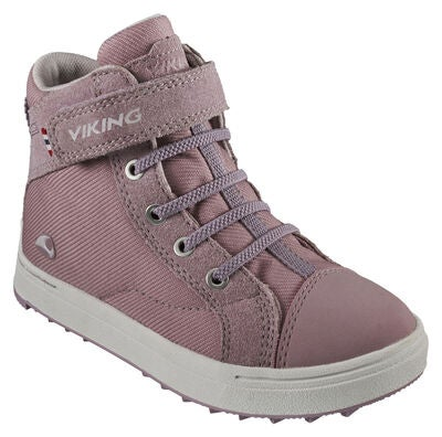 Viking Leah Mid GTX Sneaker, Dusty Pink/Light Lilac