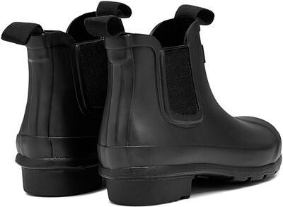 Hunter Original Kids Chelsea Gummistövel, Black