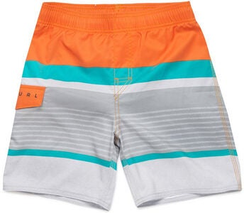 Rip Curl Hawkson Easy Fit Boardshorts 16 tum, Orange Popsicle