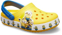 Crocs Minions Fun Lab Multi Clog, Yellow