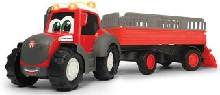 Dickie Toys Happy Massey Ferguson Djurtransport