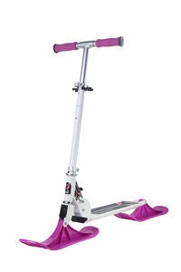 STIGA Snow Kick Bike, Vit/Rosa