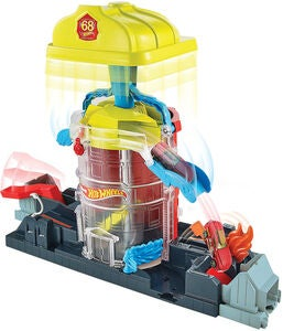 Hot Wheels City Lekset Super Fire House Rescue