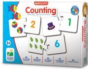 The Learning Journey Pussel Match It Counting