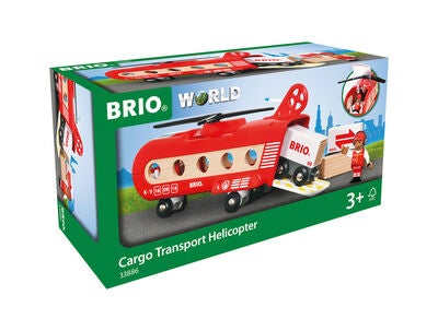 BRIO World 33886 Transporthelikopter