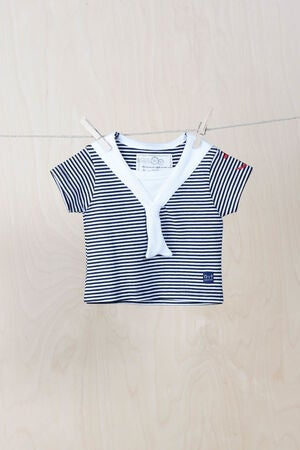 emma och malena T-shirt Matros, Striped