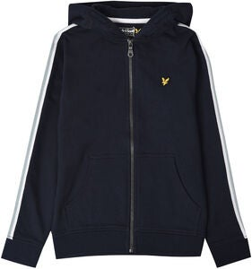 Lyle & Scott Taped Hoodie, Navy Blazer