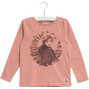Wheat Frozen Anna T-Shirt, Soft Rouge