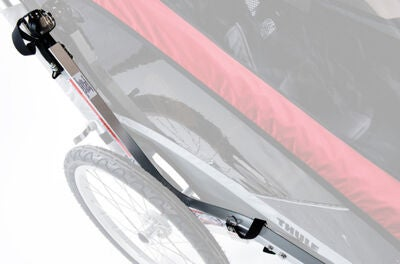 Thule Chariot Cougar 1 Red inkl. Cykelkit