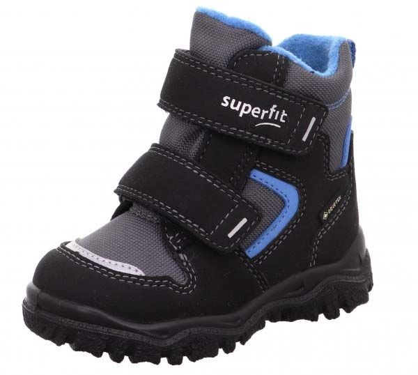 Superfit Husky1 GTX Vinterkänga, Black/Blue